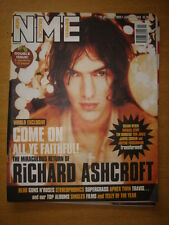 NME 1999 DEC 25 RICHARD ASHCROFT BLUR SUPERGRASS TRAVIS