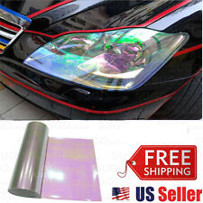 "12""x60"" Chameleon Neo Pearl Color Headlight Tail Fog Lamp Tint Tinted Film Wrap"