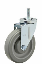 "Threaded Stem Caster: 1/2-13x1. Polyurethane Wheel: 3"" x 1-1/4"". Ball Bearing."