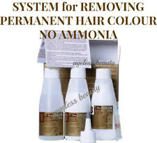 HAIR COLOUR DYE TINT REMOVER STRIPPER Permanent Colourant ERASER; NO AMMONIA