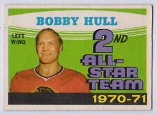 2003 Topps Vintage Embossed Buyback 1971 OPC Bobby Hull All Star