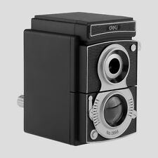 Camera Design Pencil Sharpener Sharpening Rotary Hand Crank Desktop Student