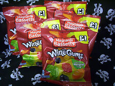 ~5 x 165g BAGS MAYNARDS BASSETTS WINE GUMS~ PARTY OFFICE EVENTS FRUIT SWEETS