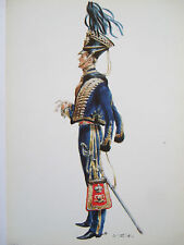 MILITARY POSTCARD-OFFICER 7TH OR QUEENS OWN HUSSARS