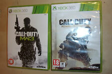 2 GIOCHI COMPLETI XBOX 360 Call of Duty Advanced Warfare + Modern Warfare 3/mw3