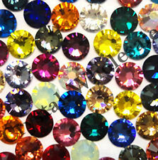 144 Swarovski ss5 crystal rhinestone flatback 1.8mm 5ss mix color