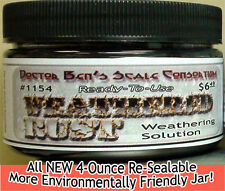 Weathered Rust Weathering Solution 4oz-Doctor Ben's READY-TO USE! hfcPR3