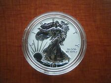 2012 S REVERSE PROOF SILVER EAGLE FROM SAN FRANCISCO SET ONE COIN IN CAP