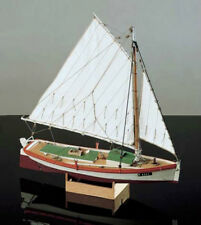 "Classic, Detailed Wooden Model Ship Kit by Corel: ""Chesapeake Bay Flattie"""