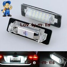 NEW 2x Canbus Led License Number Plate Light For MERCEDES BENZ E W210 95-02 W202