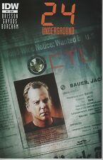 24 Underground #1 FOX TV show series comic book Jack Bauer