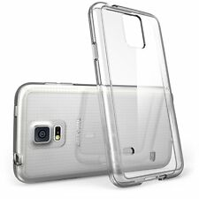 ShockProof Silicone Rubber Clear Case Cover For Samsung Galaxy Models S5