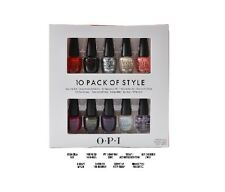OPI NAIL POLISH Coca Cola Collection 10 Pack Of Style Mini Collection
