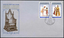 Fiji 1977 Silver Jubilee FDC First Day Cover #C24897