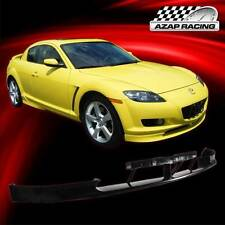 2004 05 06 07 OE Style Poly-Urethane Front Bumper Lip Spoiler For Mazda RX-8