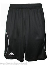 ADIDAS ADULT VARSITY PERFORMANCE LOOSE FIT SHORTS (XS) #9700 NEW BLACK/WHITE