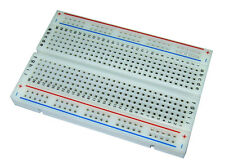 New BB400 Solderless Plug In BreadBoard 400 Tie Points 4 Power Rails Lots
