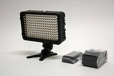 Pro 1 LED HD video light + F970 battery for Canon VIXIA full HD HF G40 G30 G20