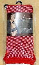 Red Tribal Burlesque Belly Dancing Gothic Goth Fishnet Arm Warmers Gloves