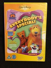 Disney Bear In The Big Blue House Everybodys Special Dvd volume 6 Region 2 New