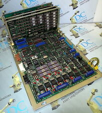 FANUC A16B-1000-0140/07A BACKPLANE WITH 3 MODULES - A16B-1200-0150/01A