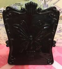 A Very Beautiful Anna Sui Butterfly Black Compact Mirror