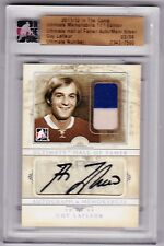 11-12 2011-12 ITG ULTIMATE GUY LAFLEUR HALL OF FAMER JERSEY AUTOGRAPH /09