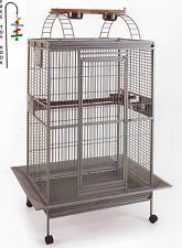 Bird Parrot PlayTop Cage Cockatiel Macaw Conure Aviary Pet Supply Finch 495