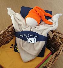 KEPTIN JR coton biologique jouet zmooz Consolateur couverture doll grand-Orange 18.32.0