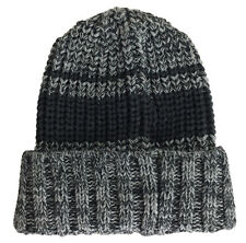 CSG Champs Sports Gear Knit Striped Beanie One Size Black Grey Winter ACG Max