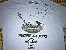 XL Hard Rock Cafe San Diego Imagine Dragons T Shirt Rock & Roll Graphic EUC
