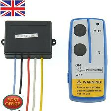 1PC WIRELESS WINCH REMOTE Control SWITCH gate dump bed 12V tow Car Vehicle