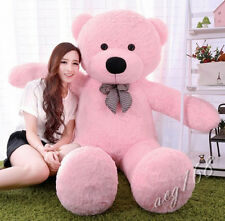 """72''GIANT BIG  personalised """"pink """" TEDDY BEAR soft toys bears gift+EMS ship"""