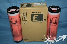 2 Genuine Riso S-7209 Orange Ink Risograph Color RZ MZ EZ S-4283 E Type