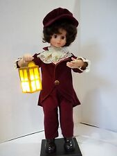 Telco MOTIONETTE ANIMATED ILLUMINATED BOY CHRISTMAS LANTERN DISPLAY
