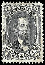 US Postage Stamp PHOTO MAGNET Abraham Lincoln 1866 issue 15 cents