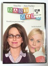Baby Mama (DVD, 2008) Fey Poehler Brand NEW Sealed Previously Viewed
