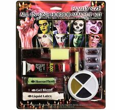 Halloween Fancy Dress Family Horror Zombie Make Up Face Paint Set #2990 New p