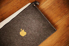 "Macbook Air Funda 13 "" - Zip-Con Impresión De Oro De Apple"