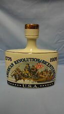 1976 Early Times Distillery American Revolution Bicentennial Whiskey Decanter