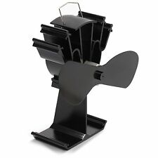 2017 Model - Kenley Heat Powered Eco Friendly Stove Top Fan for Fireplace Wood L