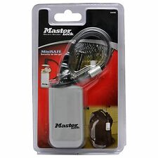 Master Lock MINISAFE Security On The Go Keyless Combination Lock w/ 15.2cm Cable