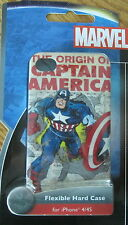 Captain America Vintage Cell Phone Case iPhone 4 iPhone 4S Marvel Comics New