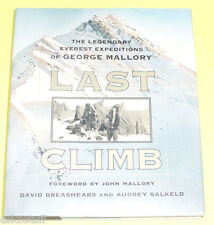The Last Climb - George Mallory Expedition 1999 First Ed Great Photos! Nice See!
