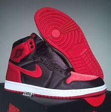 Nike Air Jordan Retro 1 SE OG Satin Size 11 10/18 Banned Bred 1s 917359 001