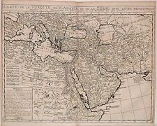 Antique map, Carte de la Turquie de l'Arabie et de la Perse