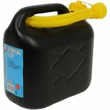 Jerry Can 10 Litre Storage Carrier Water Petrol Fuel Container Spout Plastic New
