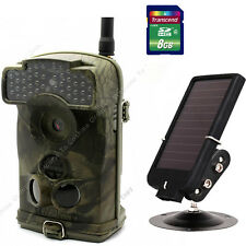 8GB+Ltl Acorn Ltl-6310WMG MMS 100° GPRS Trail Game Hunting Camera+Solar Panel