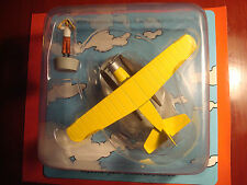TINTIN AVION AIRPLANE & FIGURINE NO1  THE CRAB WITH THE GOLDEN CLAWS NEW MIB