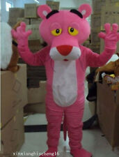 Pink Panther Mascot Costume Adult Size Fancy Dress + Fast shipping